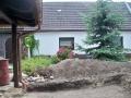 Terrassengestaltung vorher